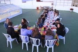 Almuerzo en la terraza