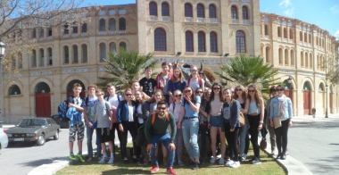 Grupo de estudiantes