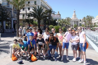 Photo of Students in Cadiz