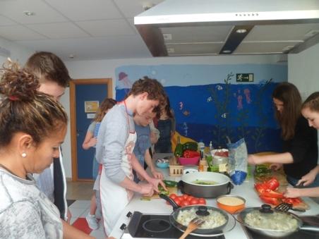 Clase de cocina española