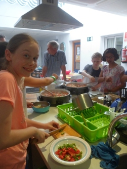 Cooking Class, honestly we cooked it!