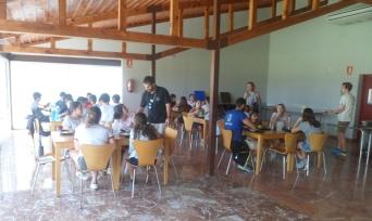 Zona de almuerzo/cena interna
