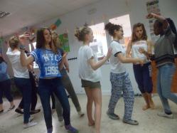Flamenco dancing lesson